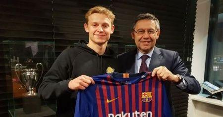 Frenkie de Jong, 86 milyon euroya Barcelona'da!