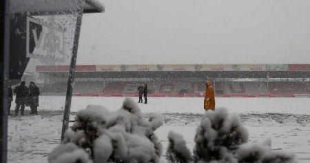 Galatasaray'a Bolu'da kar şoku! Boluspor Galatasaray maçı ertelendi mi?