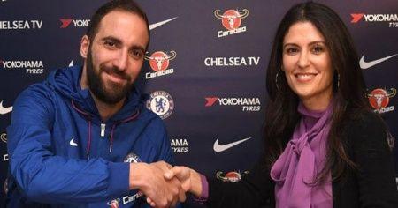 Higuain resmen Chelsea'de!