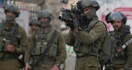 İsrail askerlerinden Nablus'a baskın