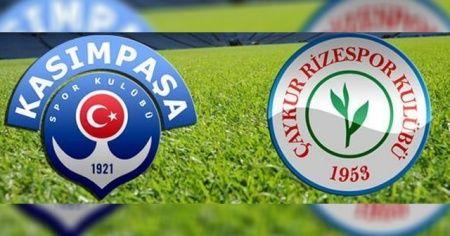 Kasımpaşa Çaykur Rizespor maçı ÖZETİ İZLE BEİNSPORTS! Kasımpaşa Çaykur Rizespor Maçı Skor Kaç Kaç Bitti?