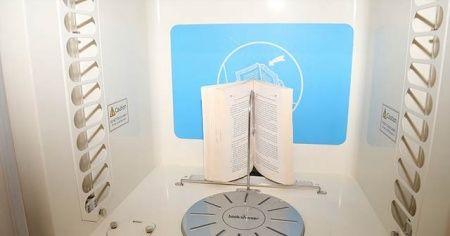 Kitaplar 'duş'a giriyor güzel kokuyor