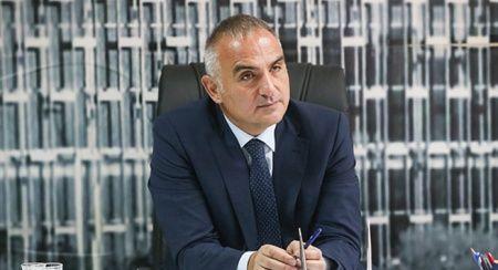 Kültür ve Turizm Bakanı Mehmet Nuri Ersoy açıklamalarda bulundu