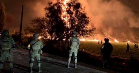 Meksika'da meydana gelen patlamada ölü sayısı 66'ya yükseldi