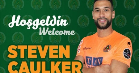Steven Caulker Aytemiz Alanyaspor'da!