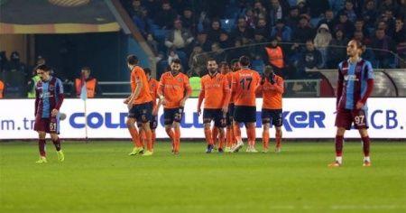 Trabzonspor 2 Başakşehir 4 maç sonucu