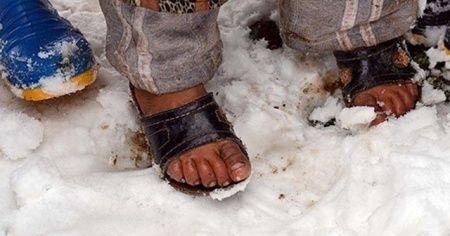 UNİCEF açıkladı: Suriye'de 15 çocuk donarak öldü