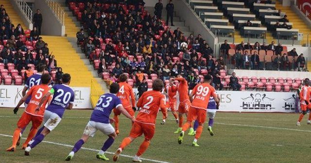 Adanaspor deplasmanda 3 golle kazandı