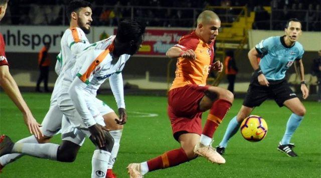 Alanyaspor Galatasaray maçı 1-1 sona erdi