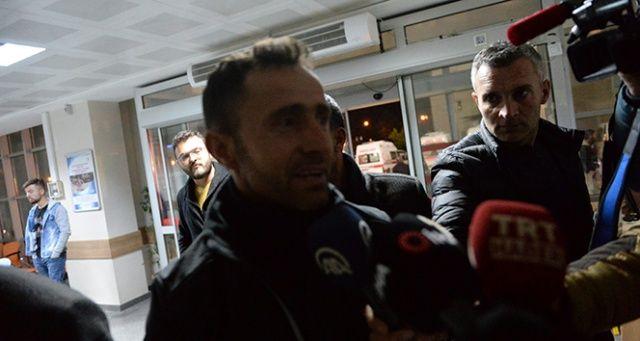 Ampute Milli Takımın Kaptanı Osman Çakmak gözyaşlarını tutamadı