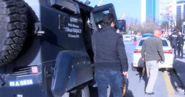 Ankara'da pompalıyla havaya ateş açan şüpheliye gözaltı