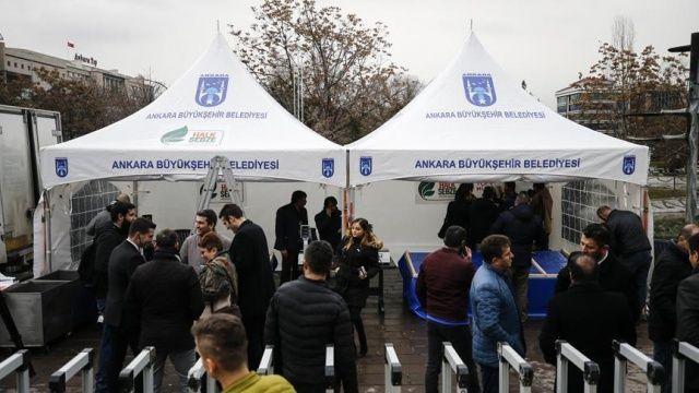 Ankara'da 'tanzim satış noktaları' kuruldu