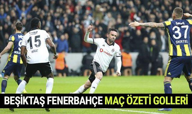 Beşiktaş Fenerbahçe Derbi Maçı Geniş Özeti Golleri İzle | BJK FB Maçı Kaç Kaç Bitti?