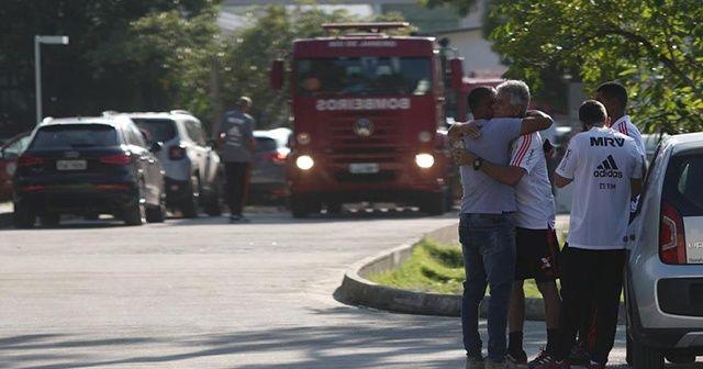 Brezilya'da futbol kulübü tesislerinde yangın: 10 ölü