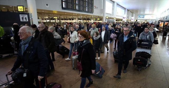 Brüksel'de grev kaosu