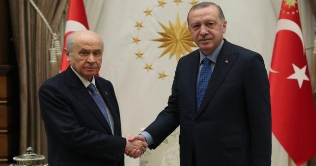 Cumhurbaşkanı Erdoğan Bahçeli ile görüşecek