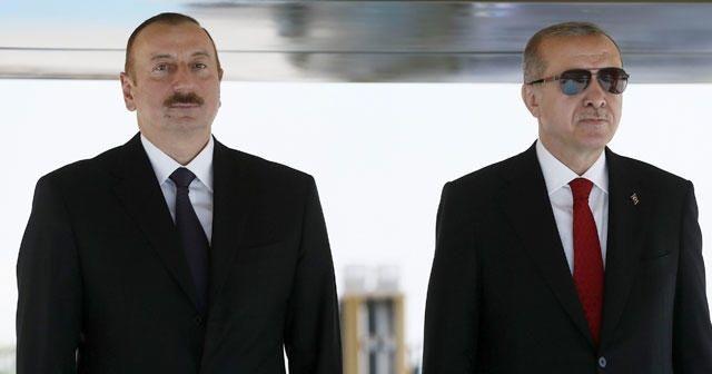 Cumhurbaşkanı Erdoğan'dan Aliyev'e başsağlığı telefonu