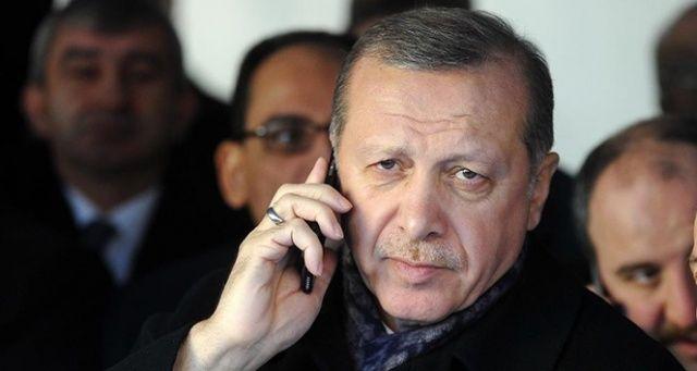 Cumhurbaşkanı Erdoğan'dan Denktaş ailesine taziye telefonu