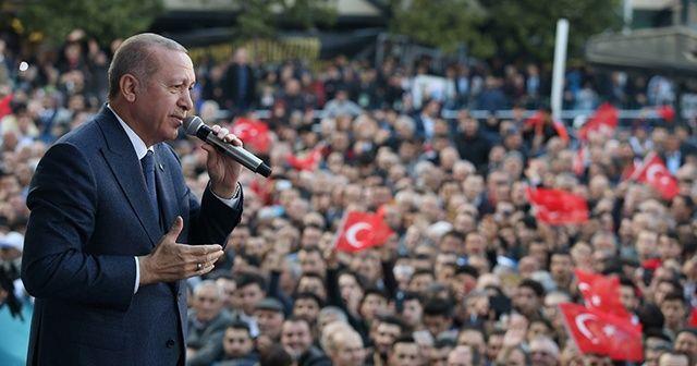 Cumhurbaşkanı Erdoğan'dan vatandaşlara çağrı: Riskli binaları boşaltın, kiranızı biz vereceğiz