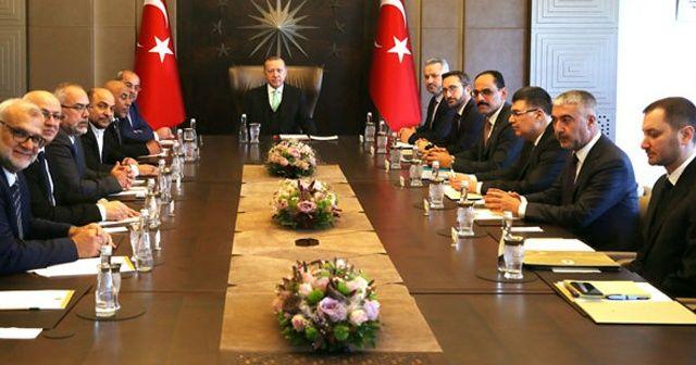 Cumhurbaşkanı Erdoğan İsrail parlamentosundaki Arap Milletvekillerini kabul etti