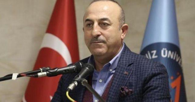 """Dışişleri Bakanı Çavuşoğlu 'Cumhur İttifakı'nı milletin bekası için kurduk"""""""