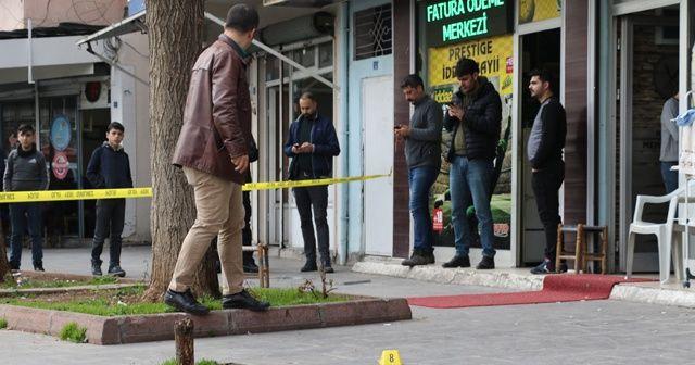 Diyarbakır'da silahlı kavga: 1 ağır yaralı