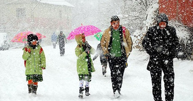 Eğitime kar engeli! Ahlat ve Tatvan'da yarın okullar tatil