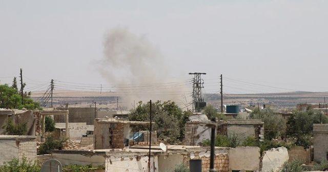 Esad rejiminden İdlib'e saldırı : 2 ölü