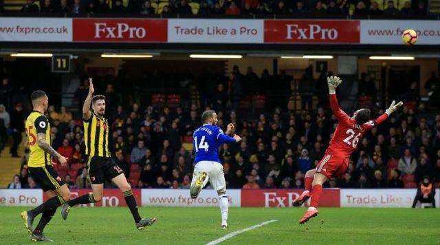 Everton'a Cenk de çare olmadı!