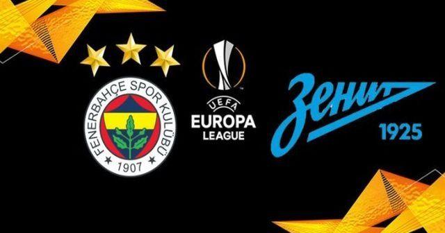 Fenerbahçe ZENİT geniş özeti golleri izle | Fenerbahçe Zenit maçı kaç kaç bitti?