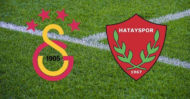 Galatasaray Hatayspor Maçı CANLI İZLE| GS Hatay Ziraat Türkiye Kupası Çeyrek Final Maçı Kaç Kaç