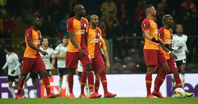 Galatasaray evinde Benfica'ya kaybetti! Tur şansını zora soktu