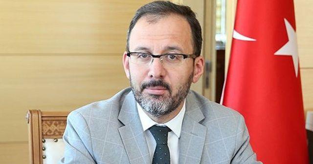 Gençlik Bakanı Kasapoğlu 3 bin personel alınacağını duyurdu