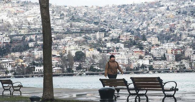 İstanbul'da hafta sonu kar yağışı bekleniyor