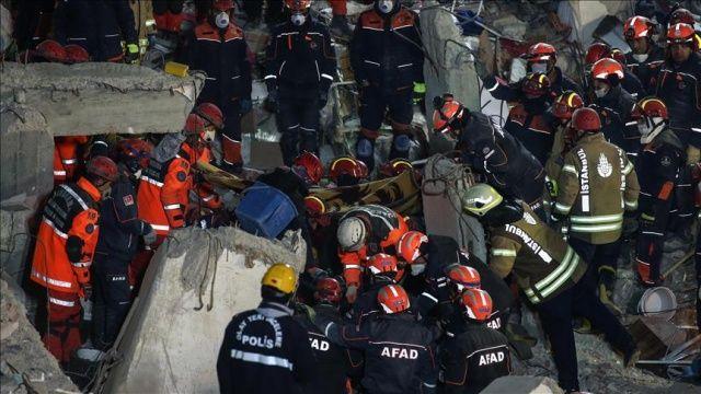 Kartal'da çöken binada 21 kişi hayatını kaybetti