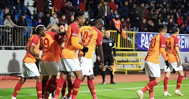 Kasımpaşa 1-4 Galatasaray   Aslan zirve takibini sürdürdü