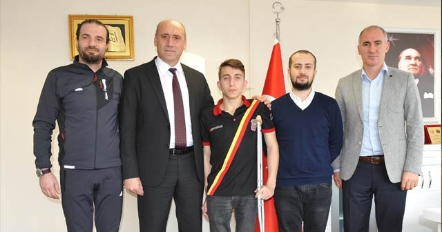 Katıldığı ilk ulusal yarışta Türkiye 3.'sü olan Metehan'ın yeni hedefi Tokyo