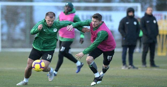 Konyaspor, Fenerbahçe maçı hazırlıklarına başladı