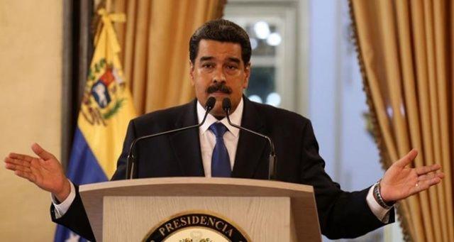 Maduro: 'ABD gözlerini Venezuela halkının zenginliklerine dikmiş durumda'