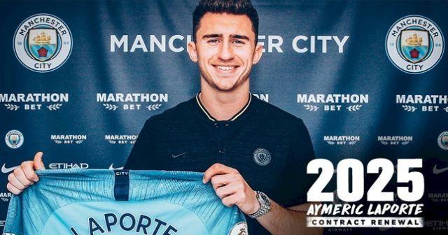 Manchester City Laporte ile uzattı
