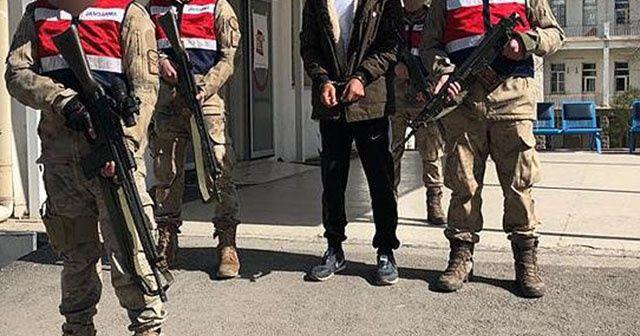 Metropollere saldırı için gönderilen PKK'lı terörist yakalandı