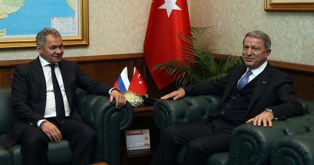 Milli Savunma Bakanı Akar: Bölgede istikrar ve barış için Rusya ile temaslarımız sürüyor