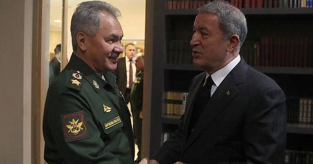 """Milli Savunma Bakanlığı: """"Rusya ile Astana ve Soçi mutabakatları çerçevesinde Suriye'deki son durum değerlendirildi"""""""