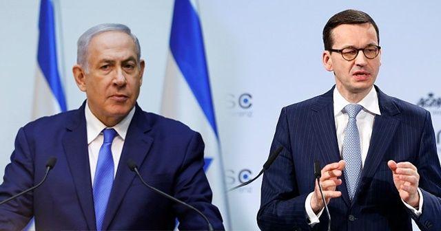 """Polonya ile İsrail arasında """"soykırım"""" krizi"""