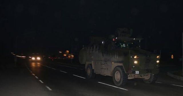 Suriye sınırına zırhlı araçla komando sevkiyatı