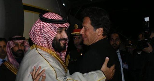 Suudi Arabistan Pakistan'la 20 milyar dolarlık mutabakat imzaladı