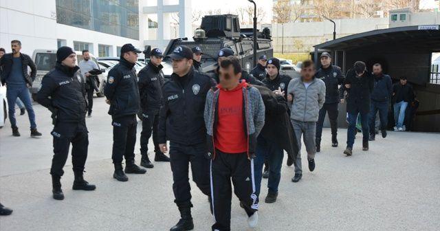 Tarihi operasyonda 121 tutuklu
