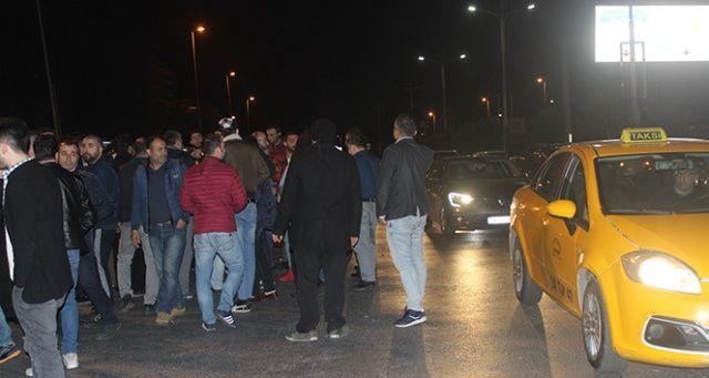 UBER şoförleri darp iddiasına karşı ayaklandı