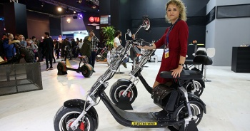 'Motosiklet görünümlü' elektrikli bisiklete ilgi arttı