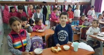 'Öğrenciler sağlıklı besleniyor' projesi